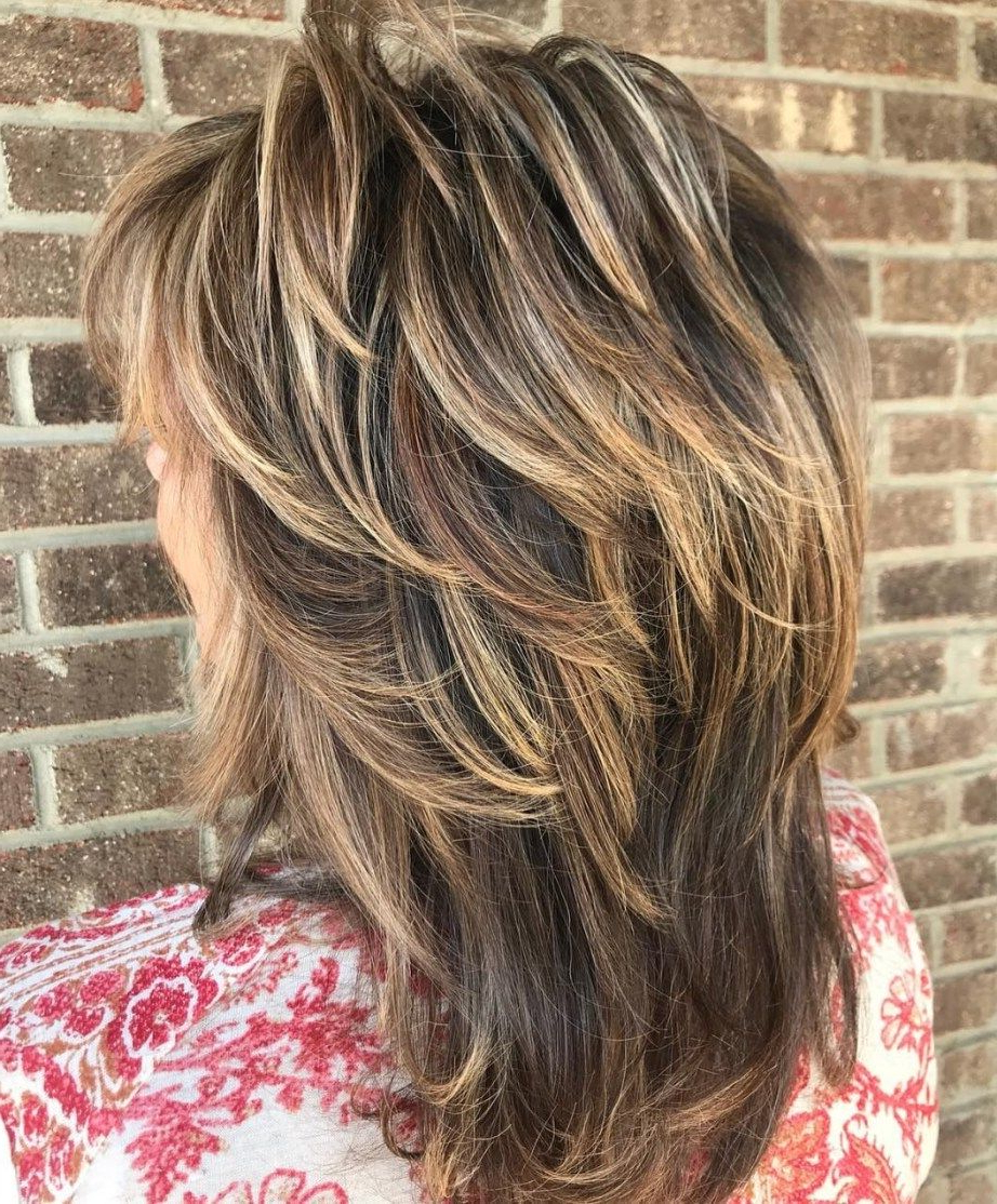 Pin On Fav Hair Cuts Throughout 2017 Medium Two Layer Haircuts (View 8 of 20)