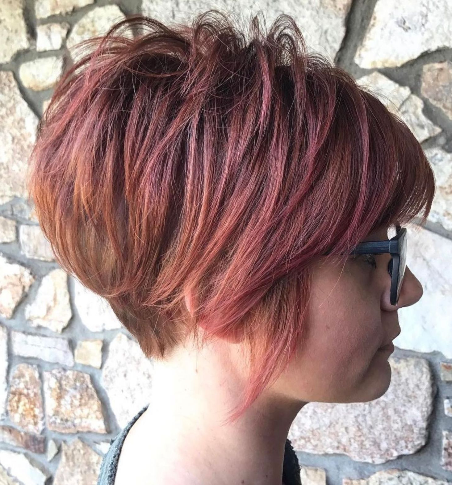 Pin On Fine Hair Intended For Sunset Inspired Pixie Bob Hairstyles With Nape Undercut (Gallery 1 of 20)