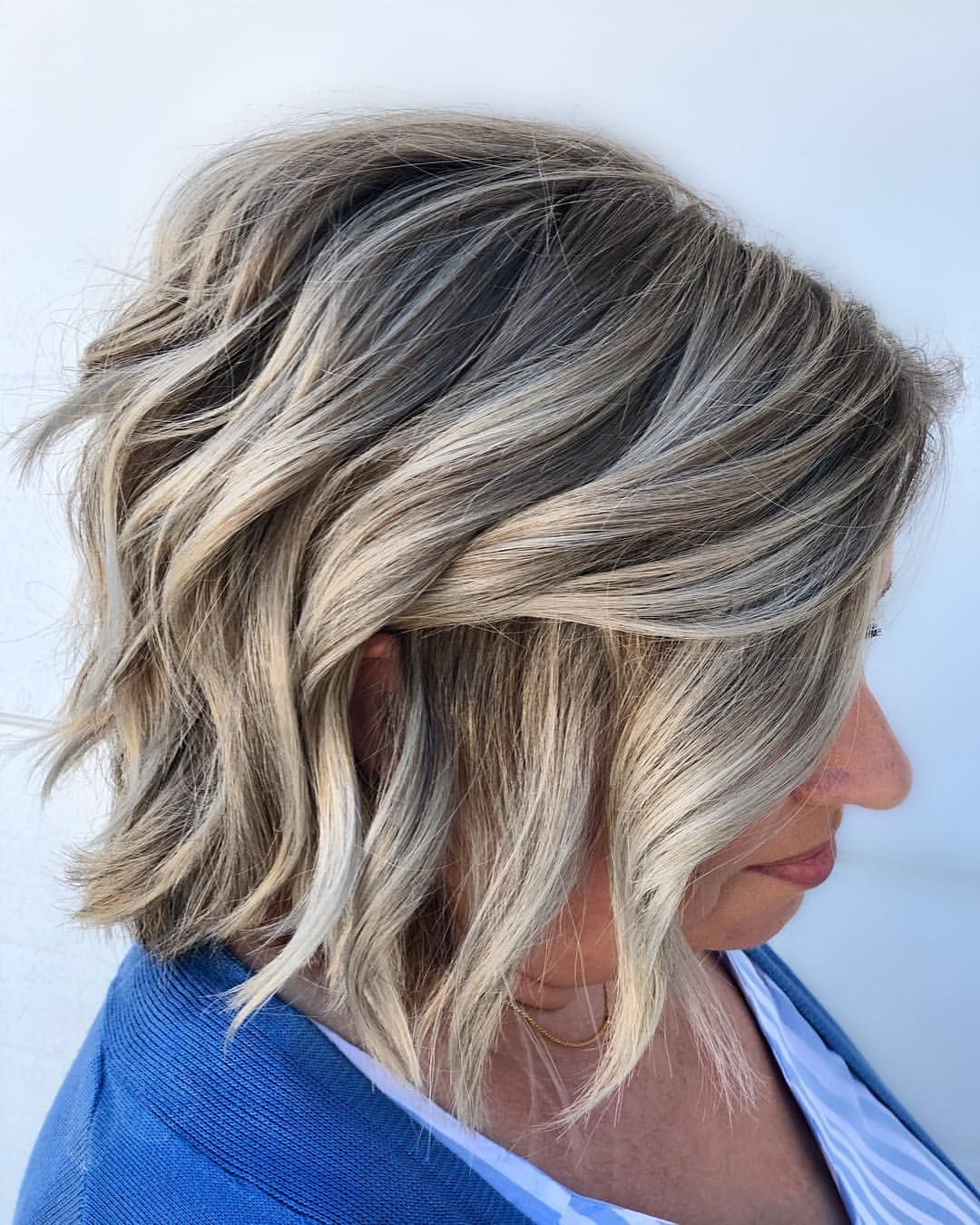 Pin On Hair And Makeup Regarding Short Textured Hairstyles With Balayage (Gallery 5 of 20)