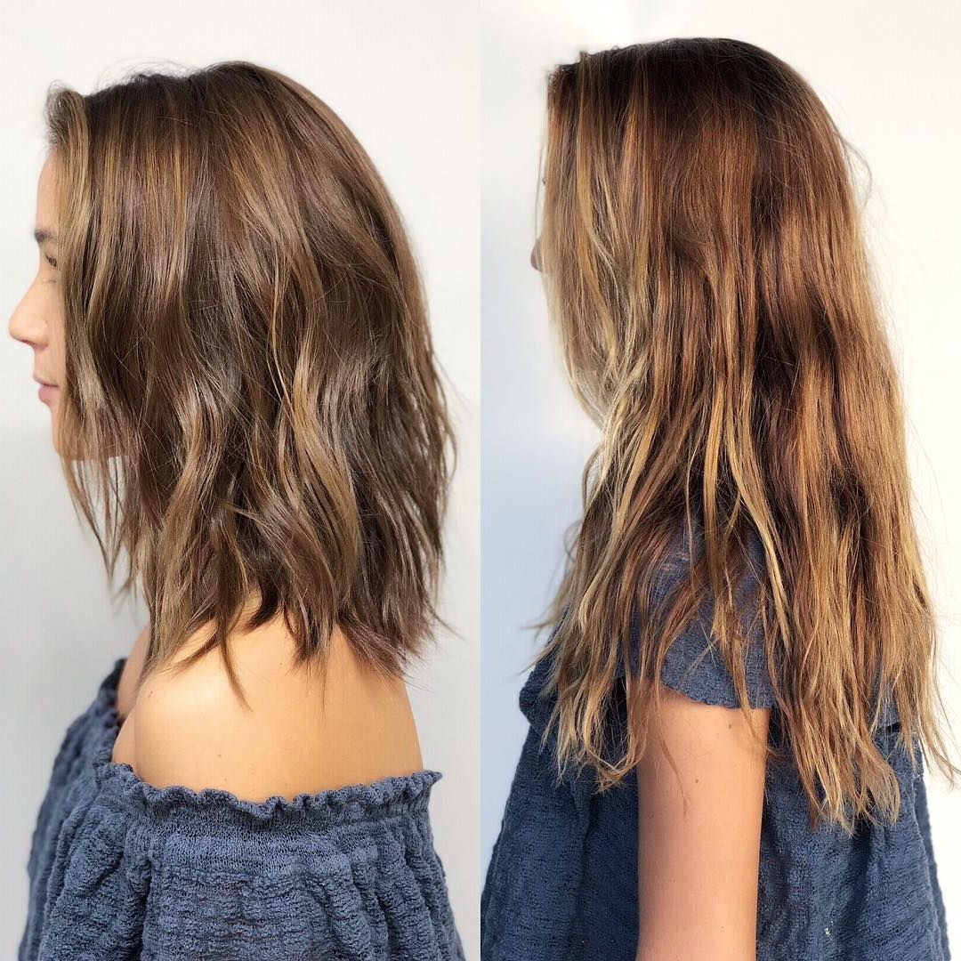 Pin On Hair & Beauty With Waves Of Color Shag Haircuts (View 7 of 20)
