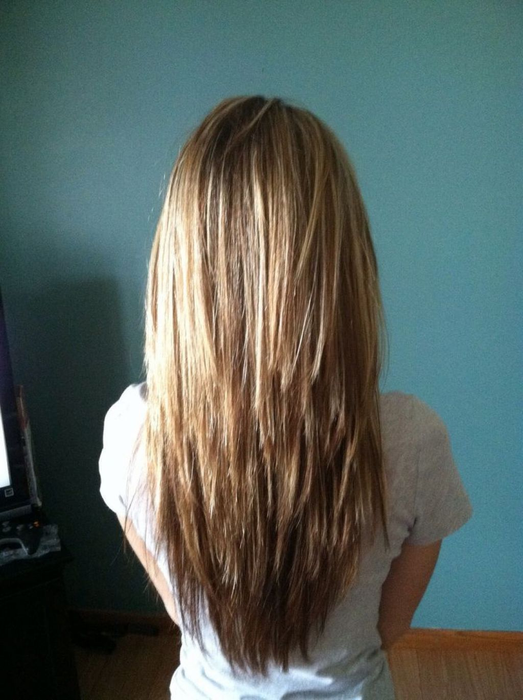 Pin On Hair Color In Favorite Long Layered Chop Haircuts (View 14 of 20)