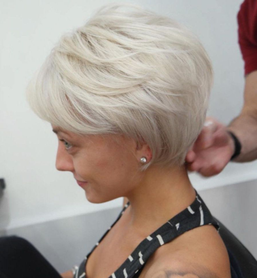 Pin On Hair For Edgy Ash Blonde Pixie Haircuts (View 5 of 20)