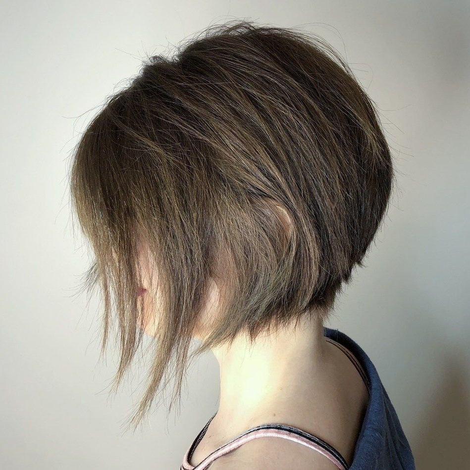 Pin On Hair Hair Hair With Regard To Angled Bob Hairstyles With Razored Ends (View 4 of 20)