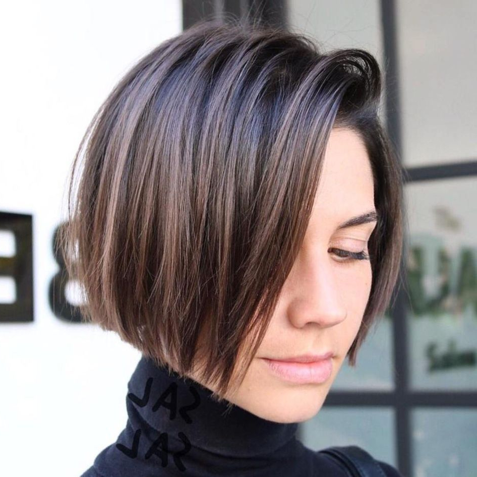 Pin On Hair I Like In Simple Side Parted Jaw Length Bob Hairstyles (Gallery 4 of 20)