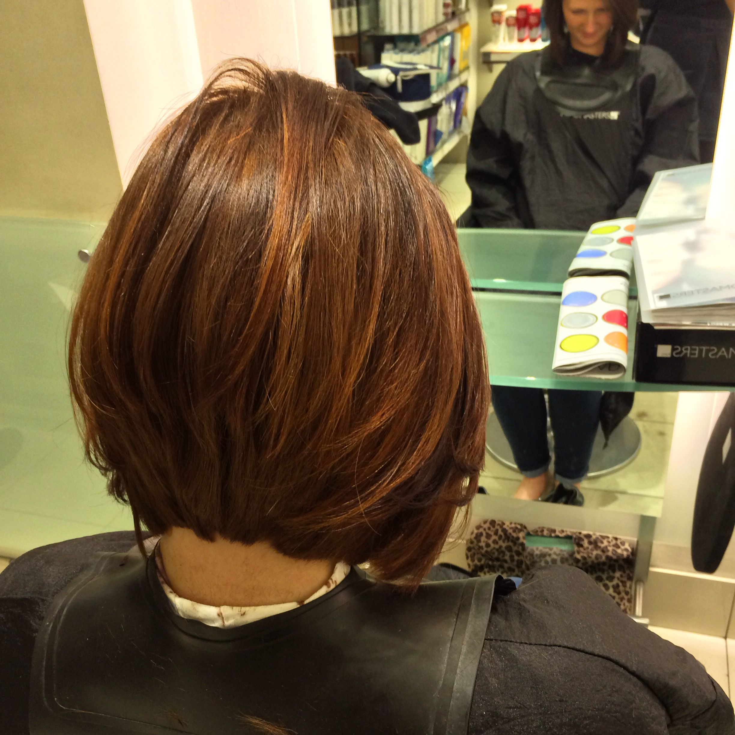 Pin On Hair Ideas Regarding Well Known Chestnut Brown Choppy Lob Hairstyles (View 16 of 20)