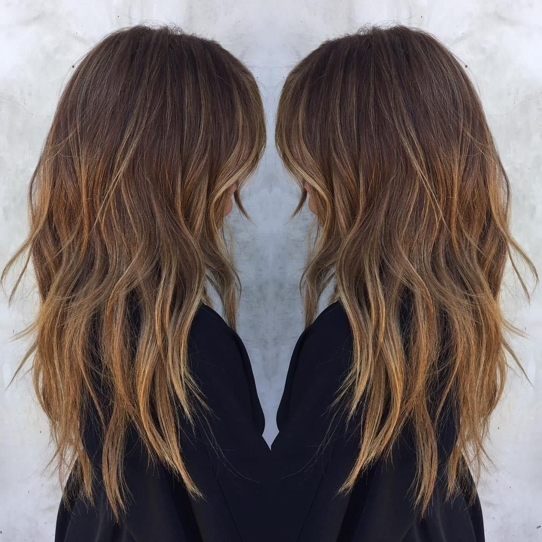 Featured Photo of Long Haircuts With Chunky Angled Layers