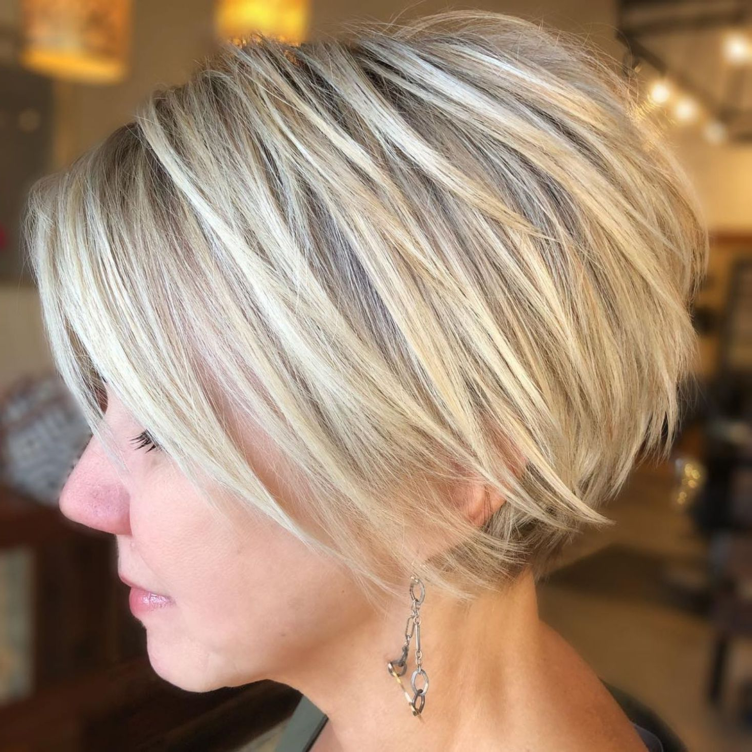 Pin On Hair In Long Pixie Haircuts With Angled Layers (View 2 of 20)