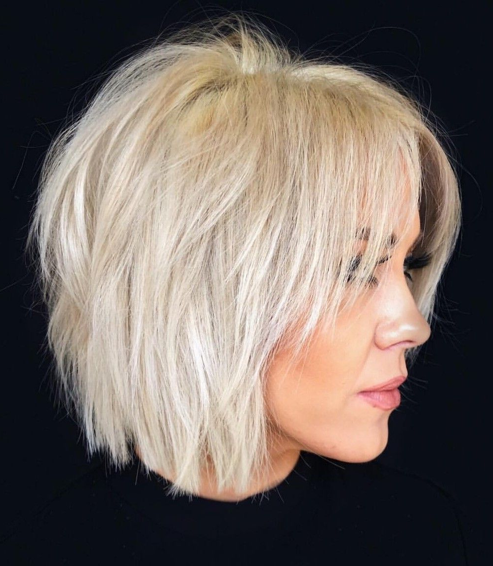 Pin On Hair In Short Shag Blunt Haircuts (View 15 of 20)