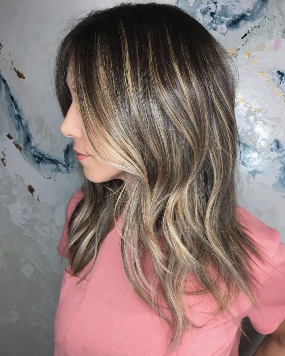 Pin On Hair Intended For Long Razored Shag Haircuts With Balayage (Gallery 2 of 20)
