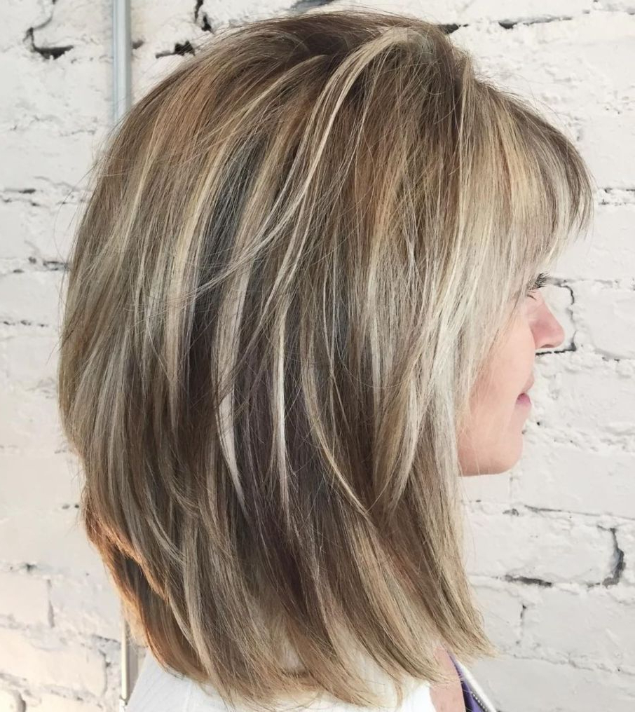 Pin On Hair & Makeup Within Well Known Layered Bob Shag Haircuts With Balayage (View 11 of 20)