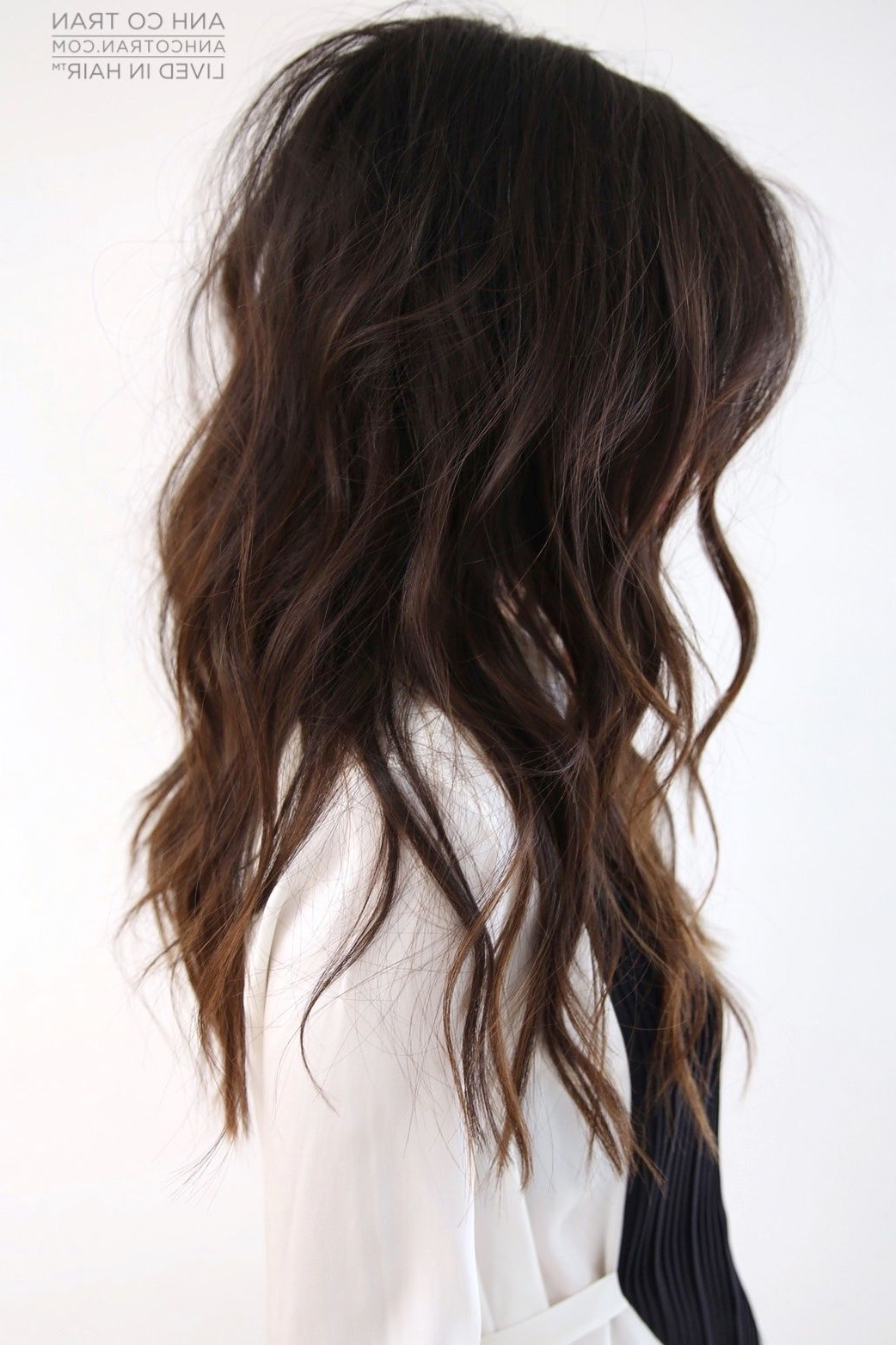 Pin On Hair Pertaining To Layered Waves Shag Haircuts (View 18 of 20)