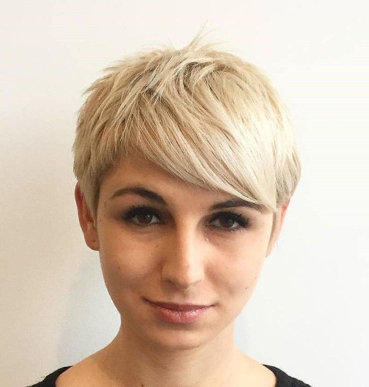 Pin On Hair Regarding Messy Spiky Pixie Haircuts With Asymmetrical Bangs (View 17 of 20)