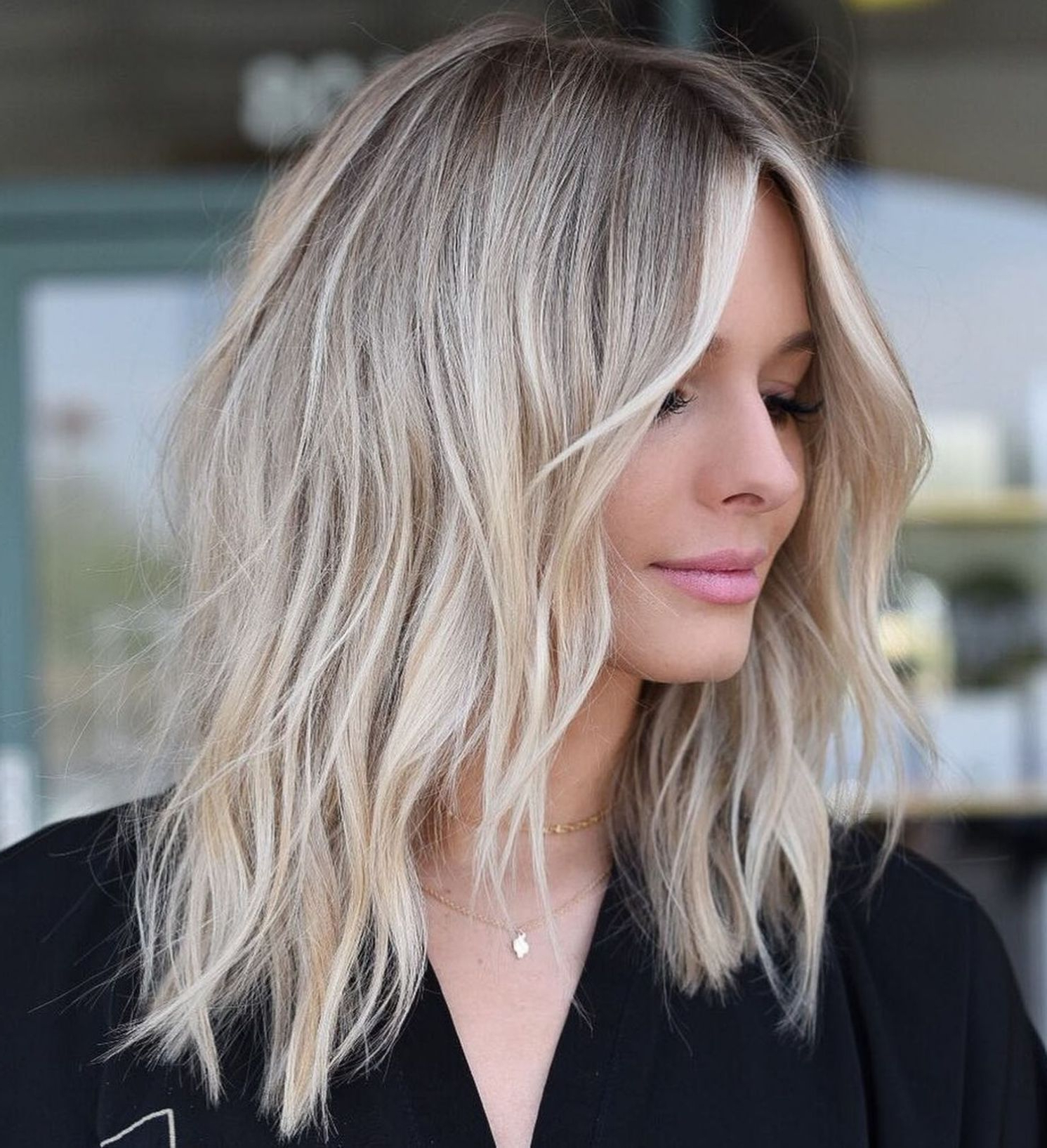 Pin On Hair Style Inside 2018 Blonde Choppy Haircuts For Medium Hair (Gallery 4 of 20)