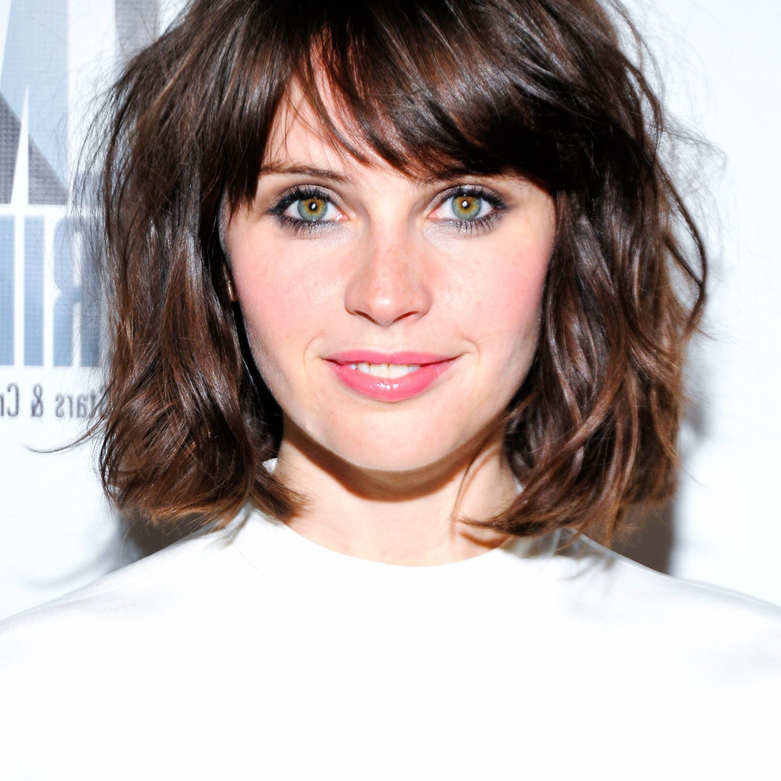 Pin On Hair Styles Intended For Curly Messy Bob Hairstyles With Side Bangs (View 12 of 20)