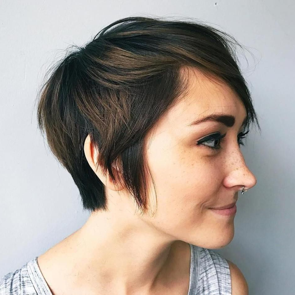Featured Photo of Pixie Haircuts With Tapered Sideburns