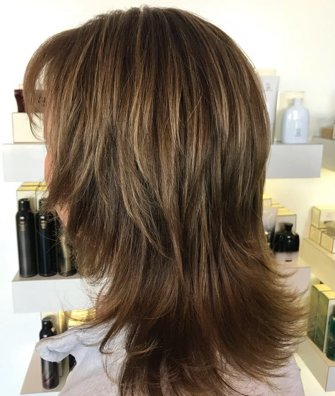 Pin On Hair Styles With Widely Used Medium Razored Shag Haircuts For Straight Hair (View 5 of 20)