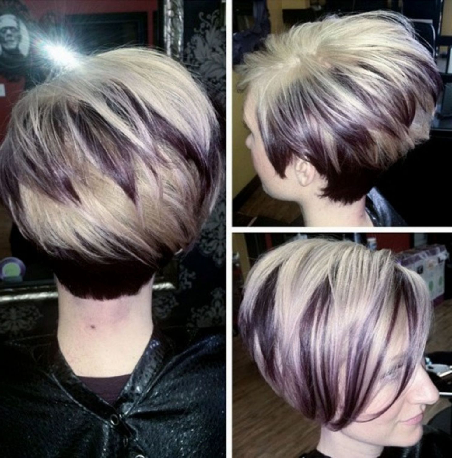 Pin On Hair Throughout Favorite Lovely Two Tone Choppy Lob Hairstyles (Gallery 5 of 20)
