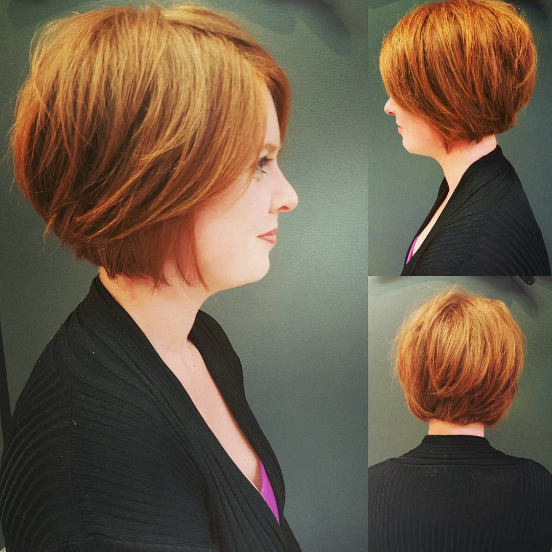 Pin On Hair Throughout Jaw Length Shaggy Walnut Brown Bob Hairstyles (View 3 of 20)
