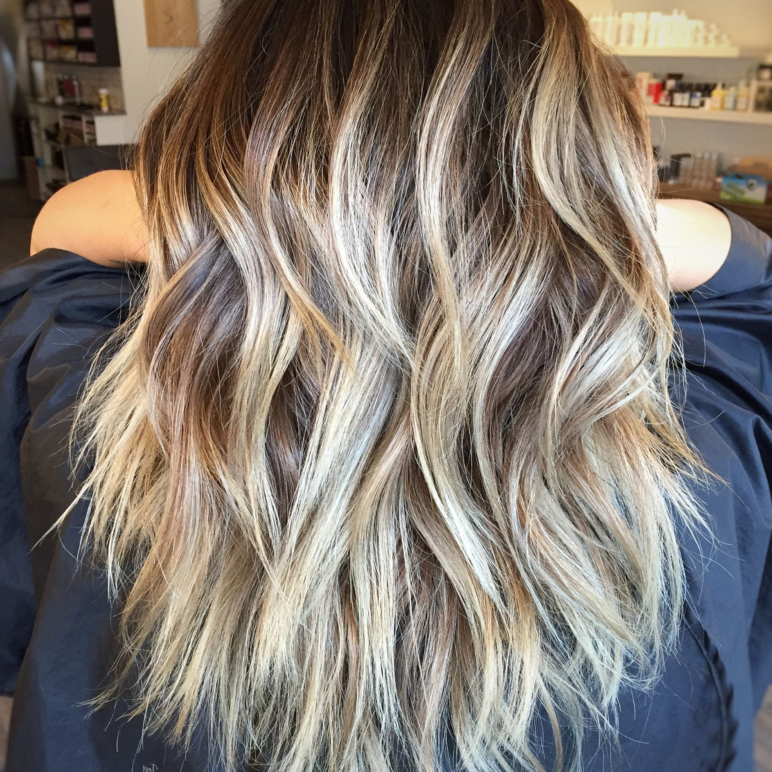 Pin On Hair Throughout Well Liked Long Layered Shag Hairstyles With Balayage (View 17 of 20)