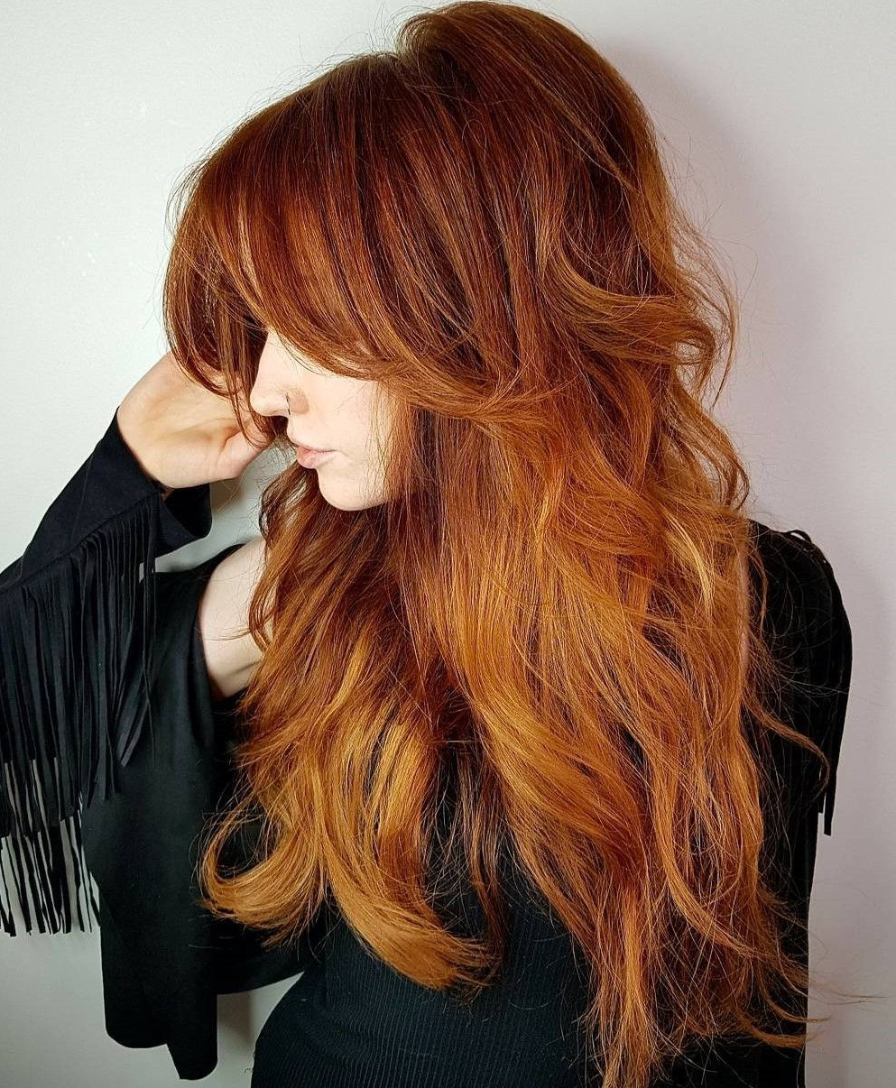 Pin On Hair With Regard To Most Up To Date Dramatic Reddish Brown Shag Haircuts (View 11 of 20)