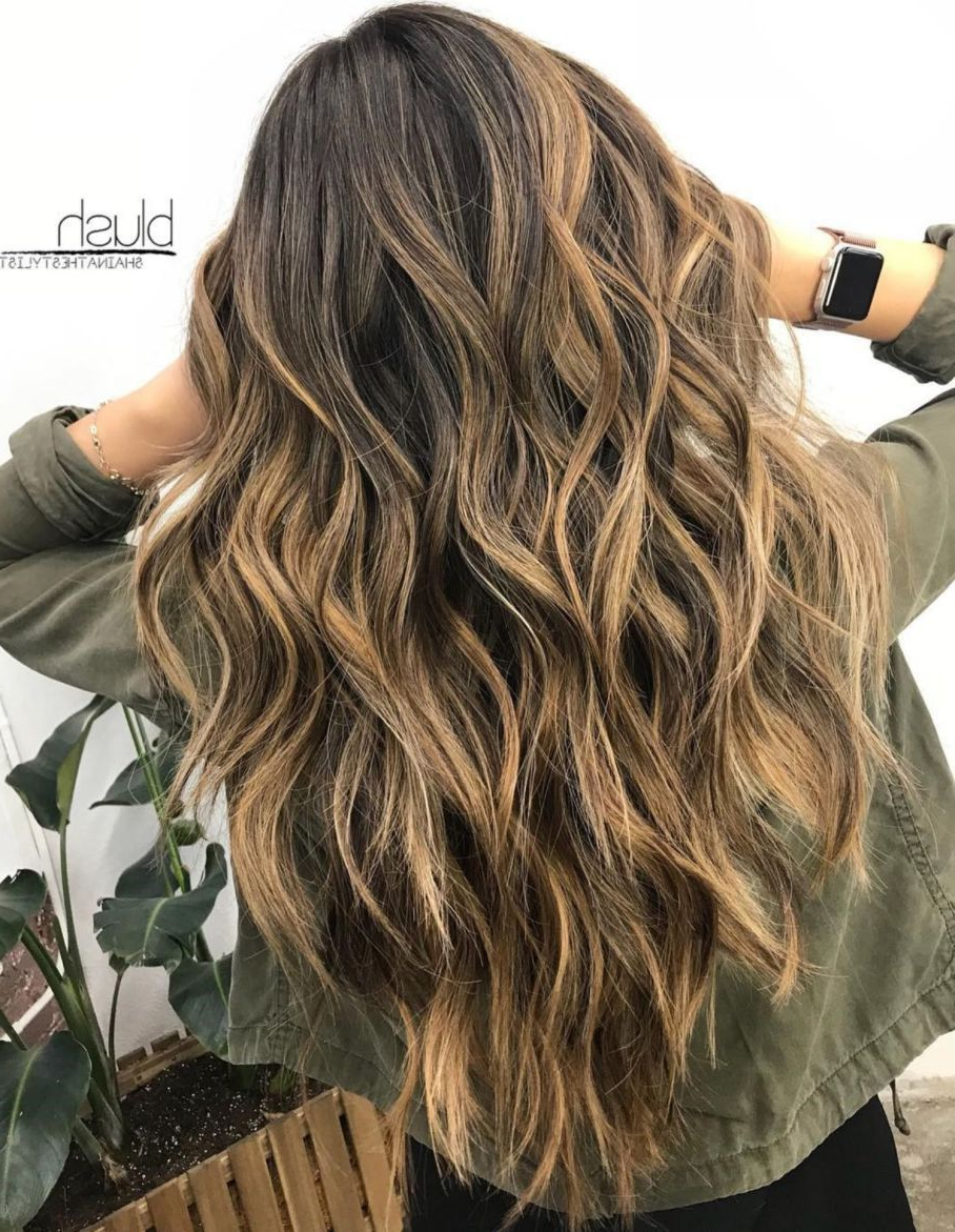Pin On Hair Within Newest Long Wavy Layers Hairstyles (View 6 of 20)