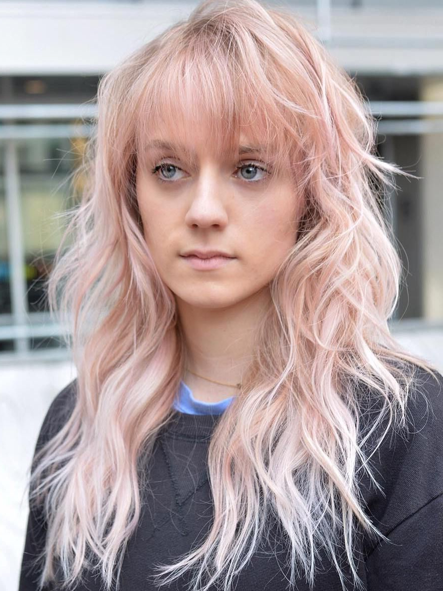 Pin On Haircut Ideas Intended For Pink Shaggy Haircuts (Gallery 2 of 20)