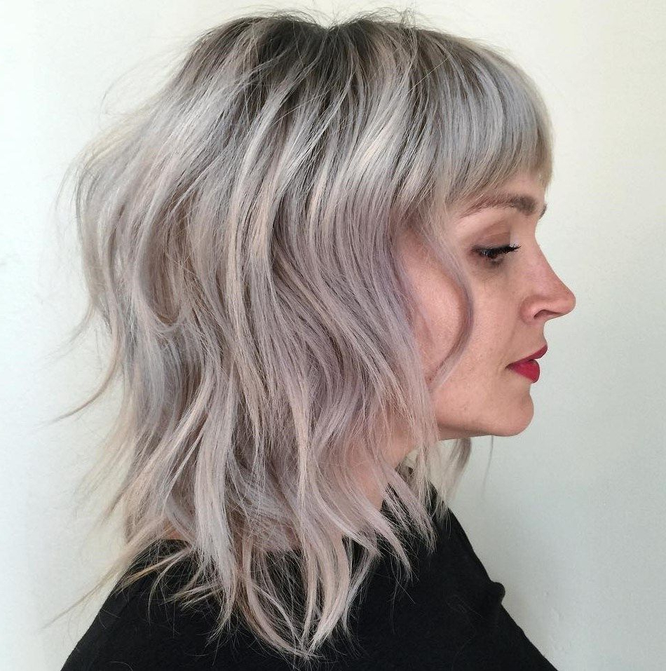 Pin On Haircuts For Short Bob Hairstyles With Cropped Bangs (View 8 of 20)
