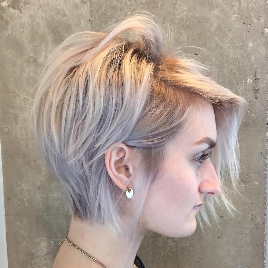 Pin On Haircuts Intended For Choppy Pixie Bob Hairstyles For Fine Hair (View 17 of 20)