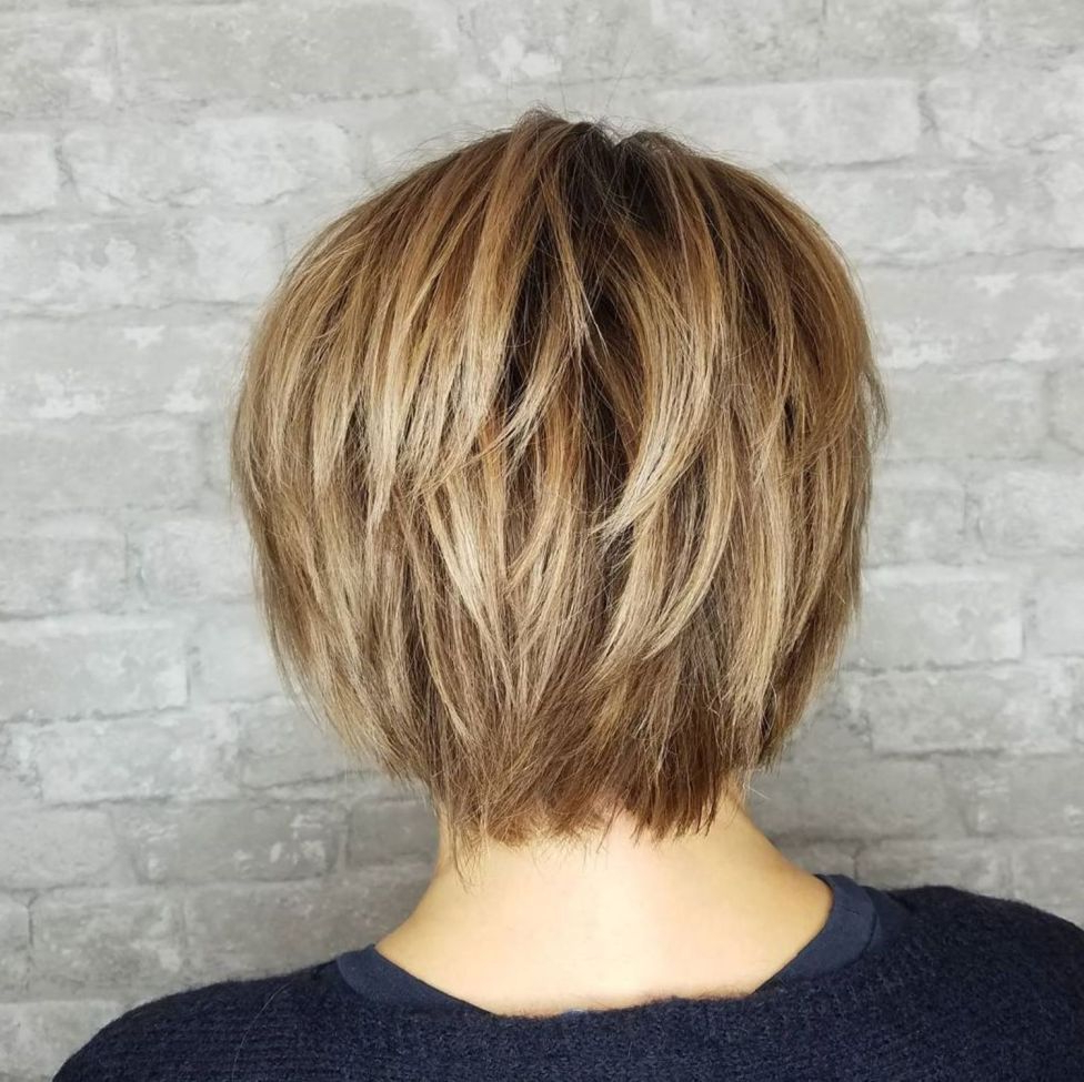 Pin On Hairstyles Pertaining To Bronde Bob Shag Haircuts With Short Back (Gallery 6 of 20)