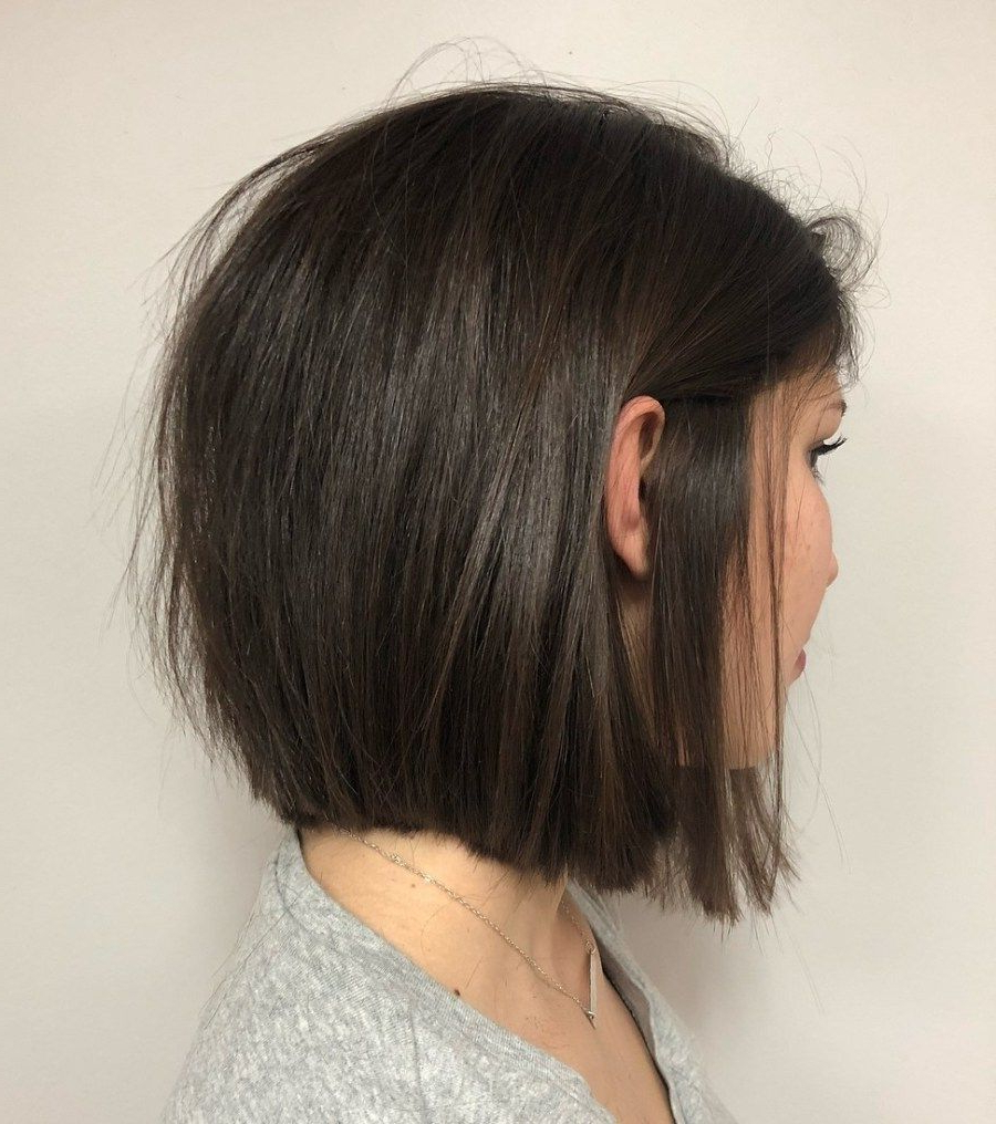 Pin On Hairstyles Within Recent Chopped Medium Haircuts For Straight Hair (Gallery 7 of 20)