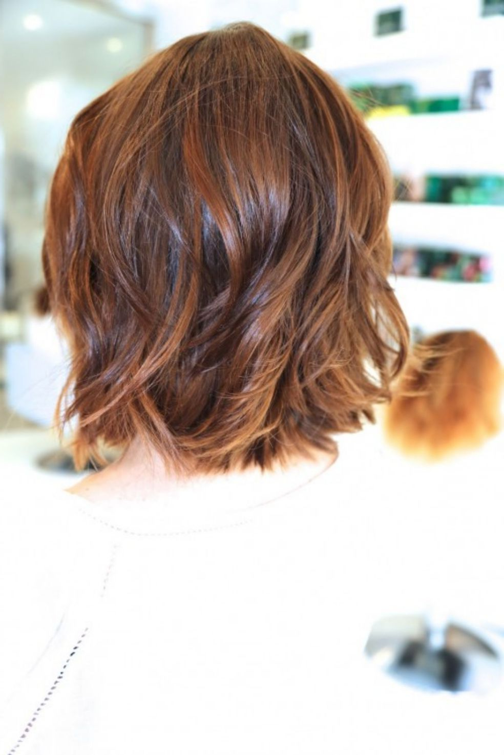 Pin On Joanne Within Most Popular Tousled Auburn Bob Haircuts (View 15 of 20)