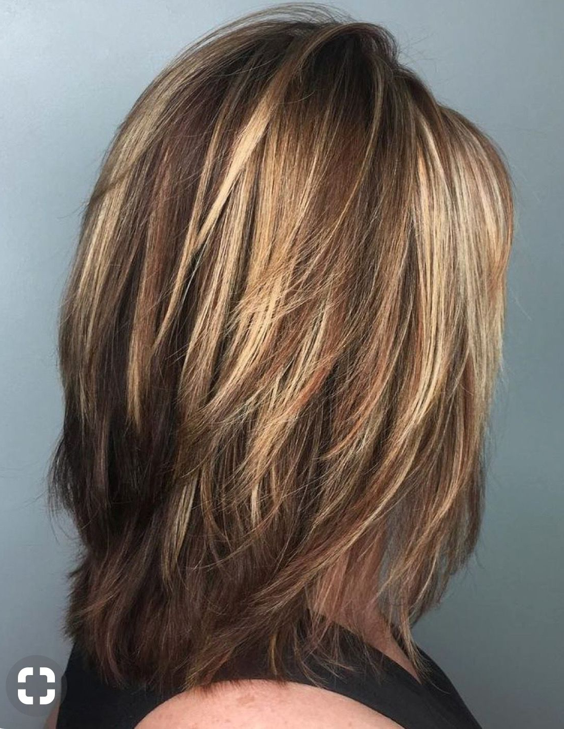 Pin On Medium Hair For 2017 Medium Haircuts With Feathered Ends (View 8 of 20)