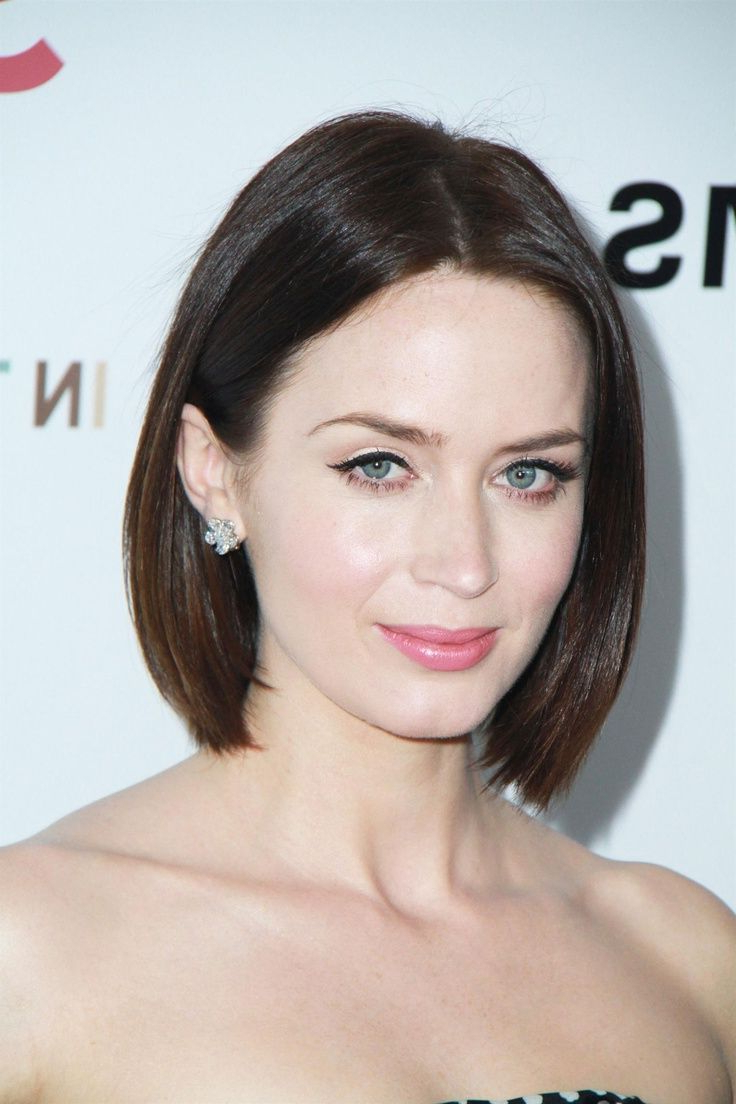 Pin On My Style For Sleek Blunt Brunette Bob Hairstyles (Gallery 2 of 20)