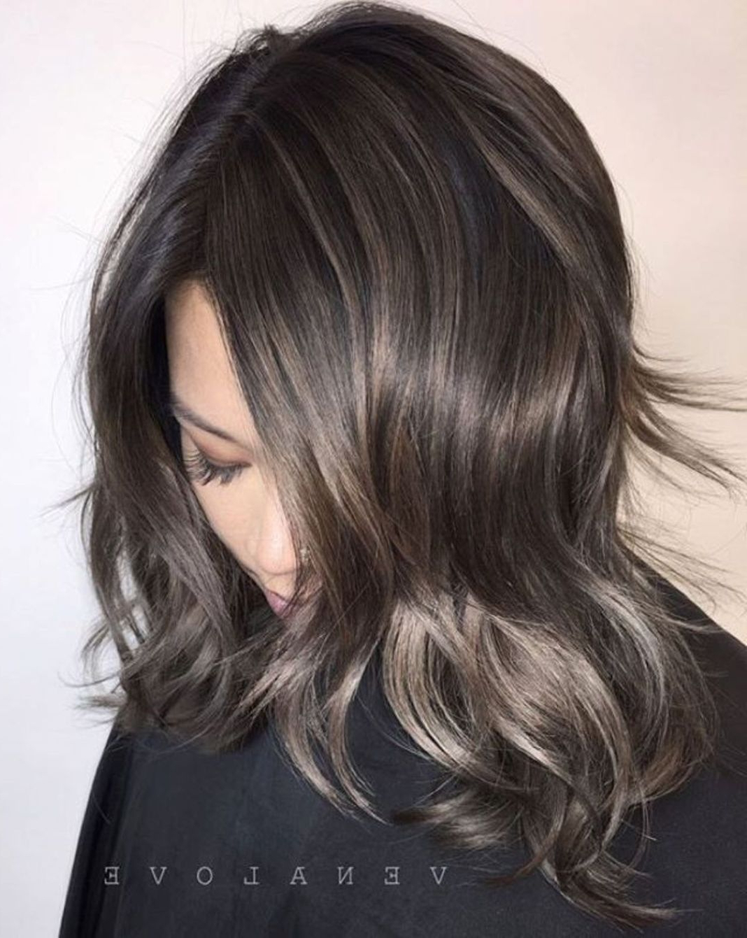 Pin On New Haircuts Maybe Intended For 2017 Subtle Ombre Shag Haircuts (Gallery 10 of 20)