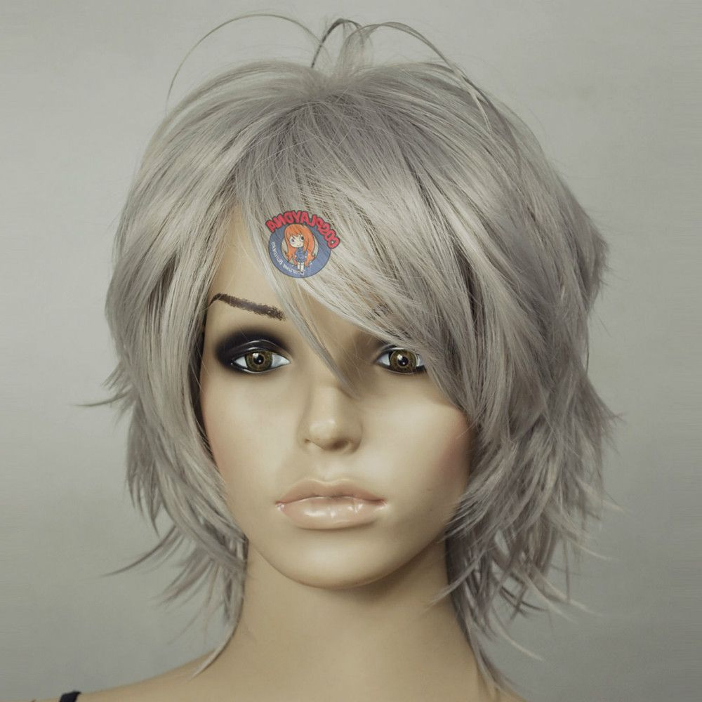 Pin On Nice Hair Colors In Silver White Shaggy Haircuts (View 5 of 20)