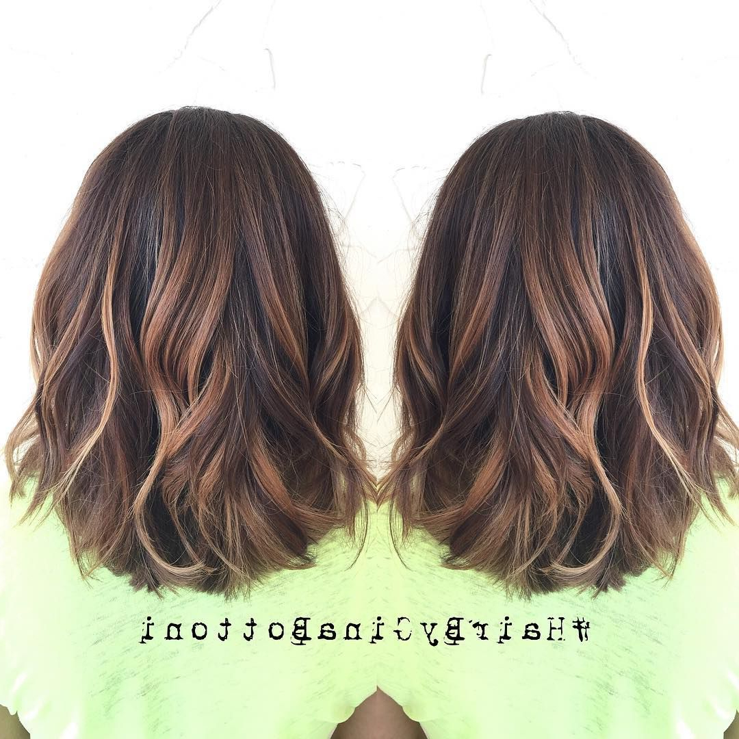 Pin On Popular Short Hairstyles With Regard To Most Up To Date Medium Haircuts With Subtle Balayage (View 9 of 20)