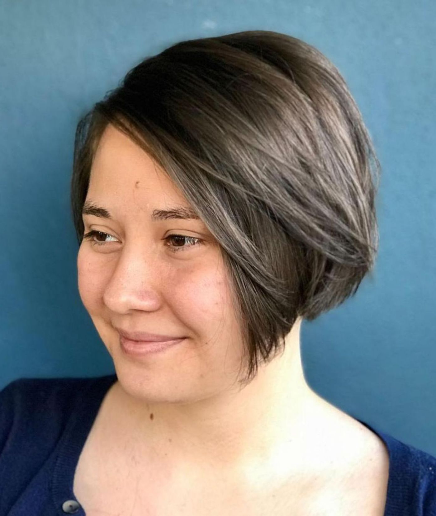 Pin On Short Hair Pertaining To Simple Side Parted Jaw Length Bob Hairstyles (Gallery 1 of 20)
