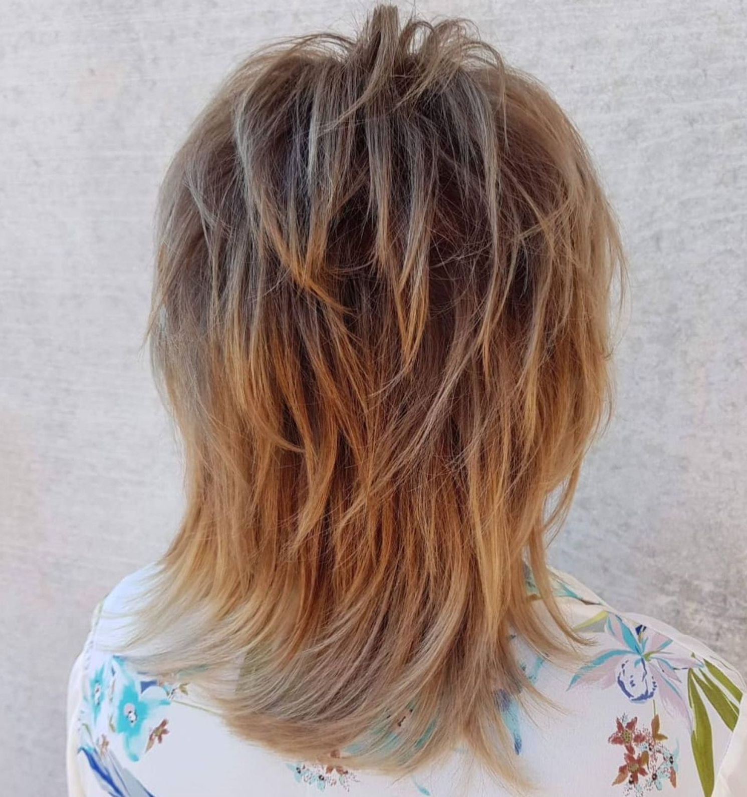 Pin On Short Shag Hairstyles In Most Recently Released Medium Wavy Bronde Shag Haircuts (View 11 of 20)