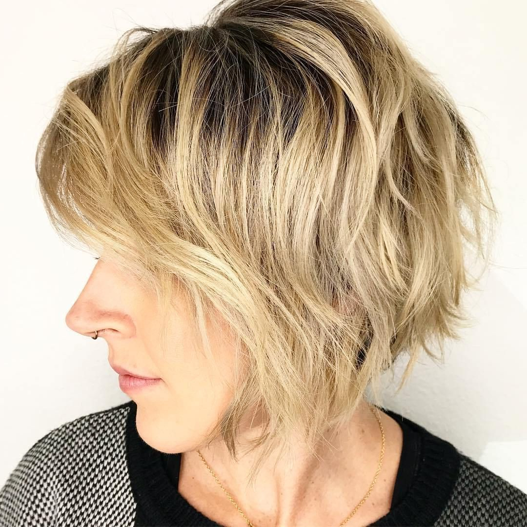Pin On Stuff We Should Know Pertaining To Jaw Length Shaggy Bob Hairstyles (View 11 of 20)