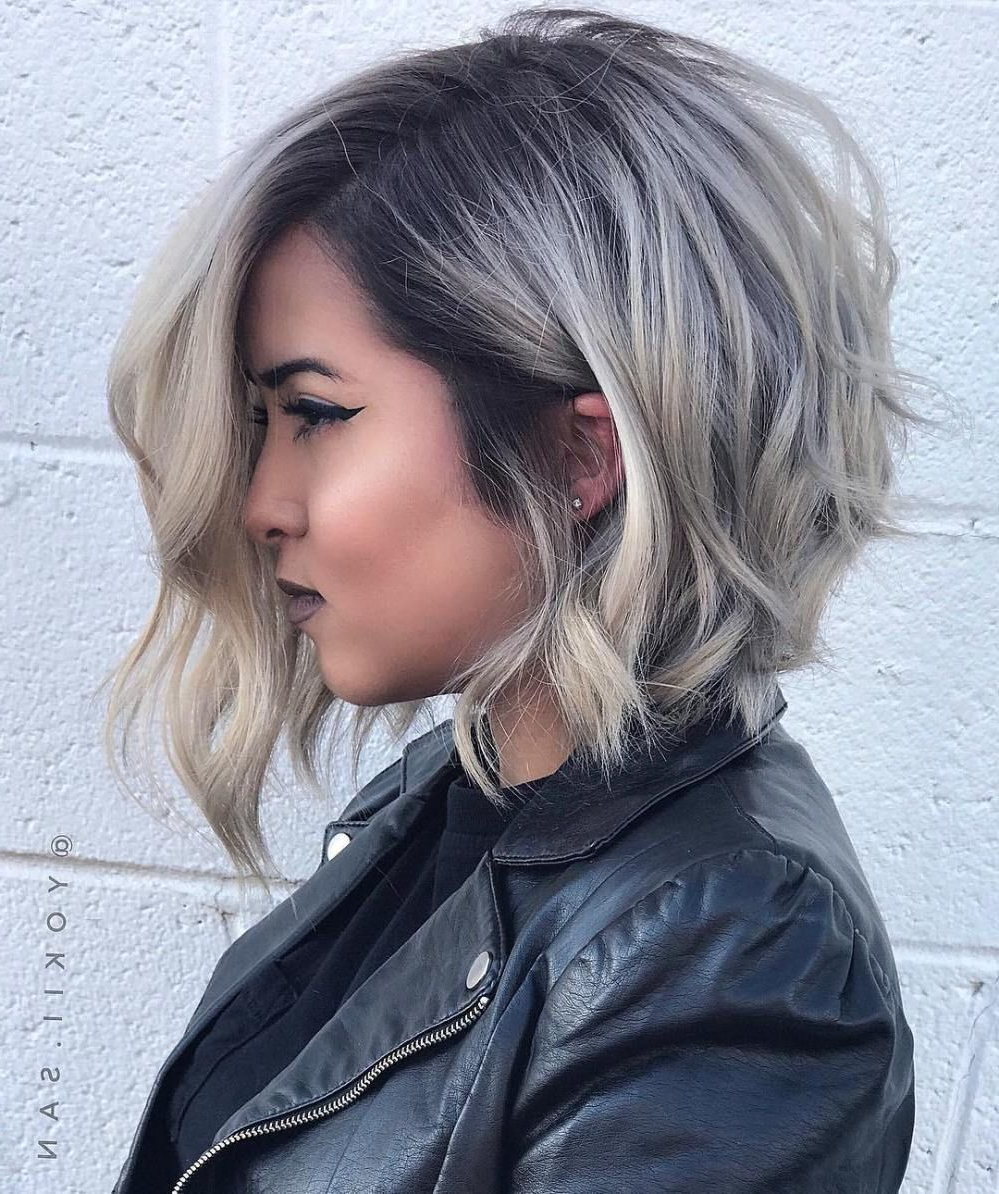 Featured Photo of Asymmetrical Grunge Bob Hairstyles