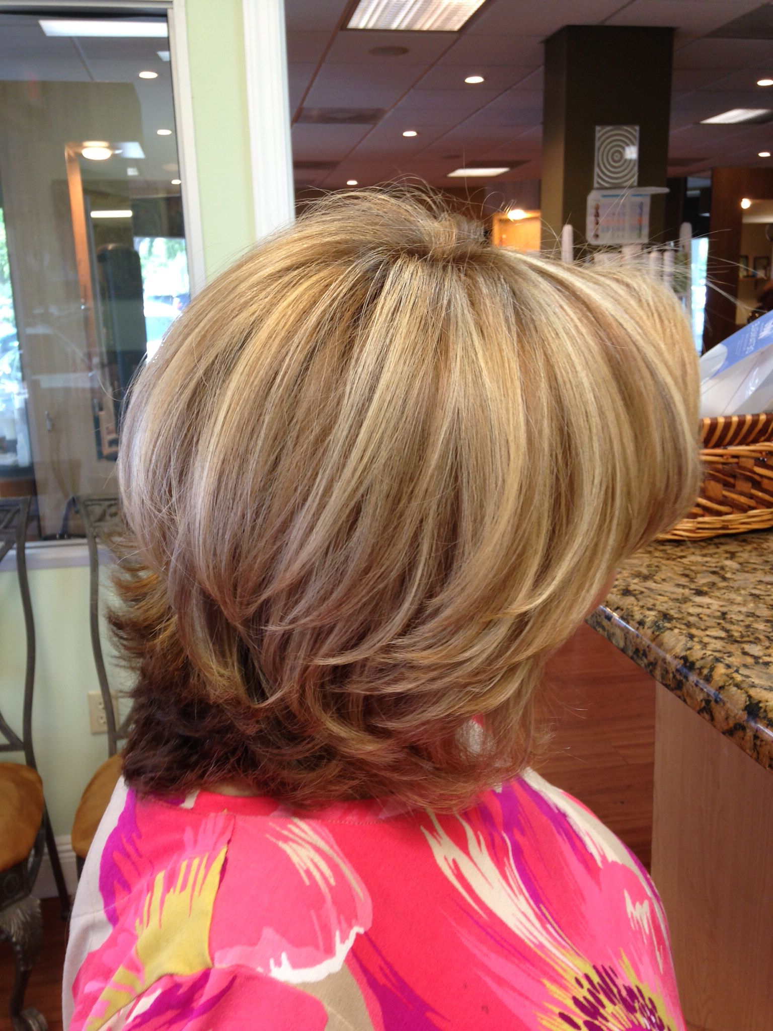 Pin On Women's Fashion In Bob Hairstyles With Contrasting Highlights (View 15 of 20)