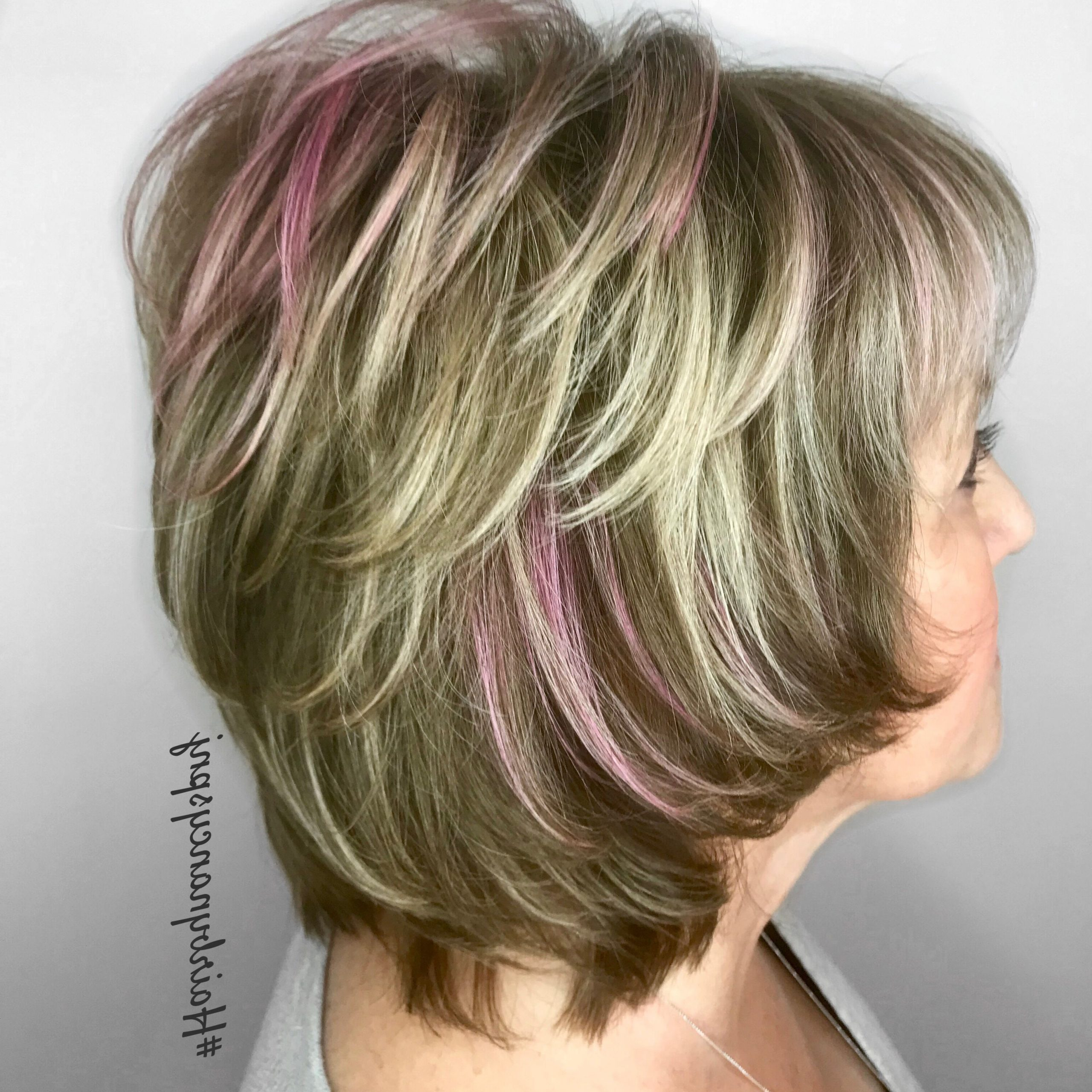Pink Hair #hairbynancyscotchplainsnj In 2019 | Hairstyles Regarding Pink Shaggy Haircuts (View 16 of 20)