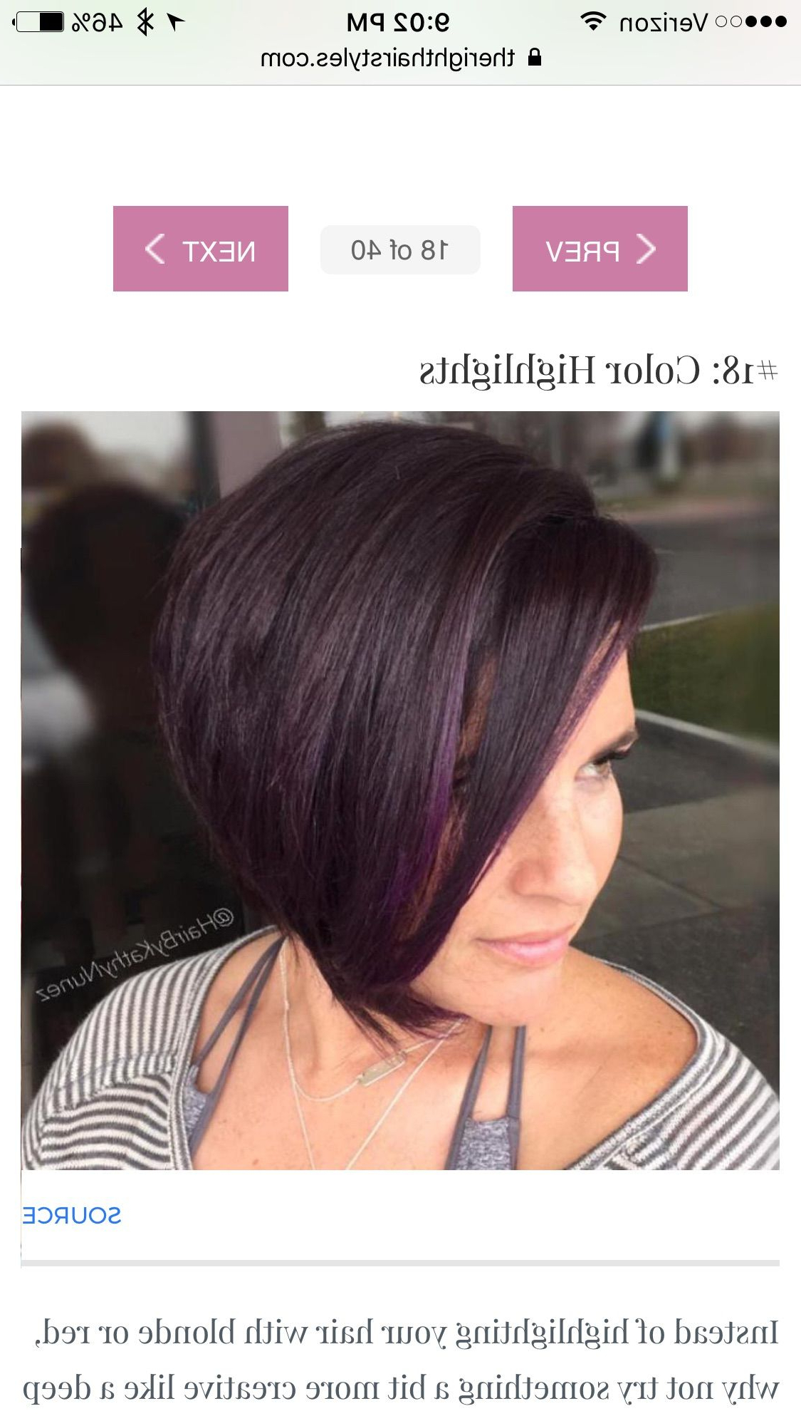 Featured Photo of Color Highlights Short Hairstyles For Round Face Types