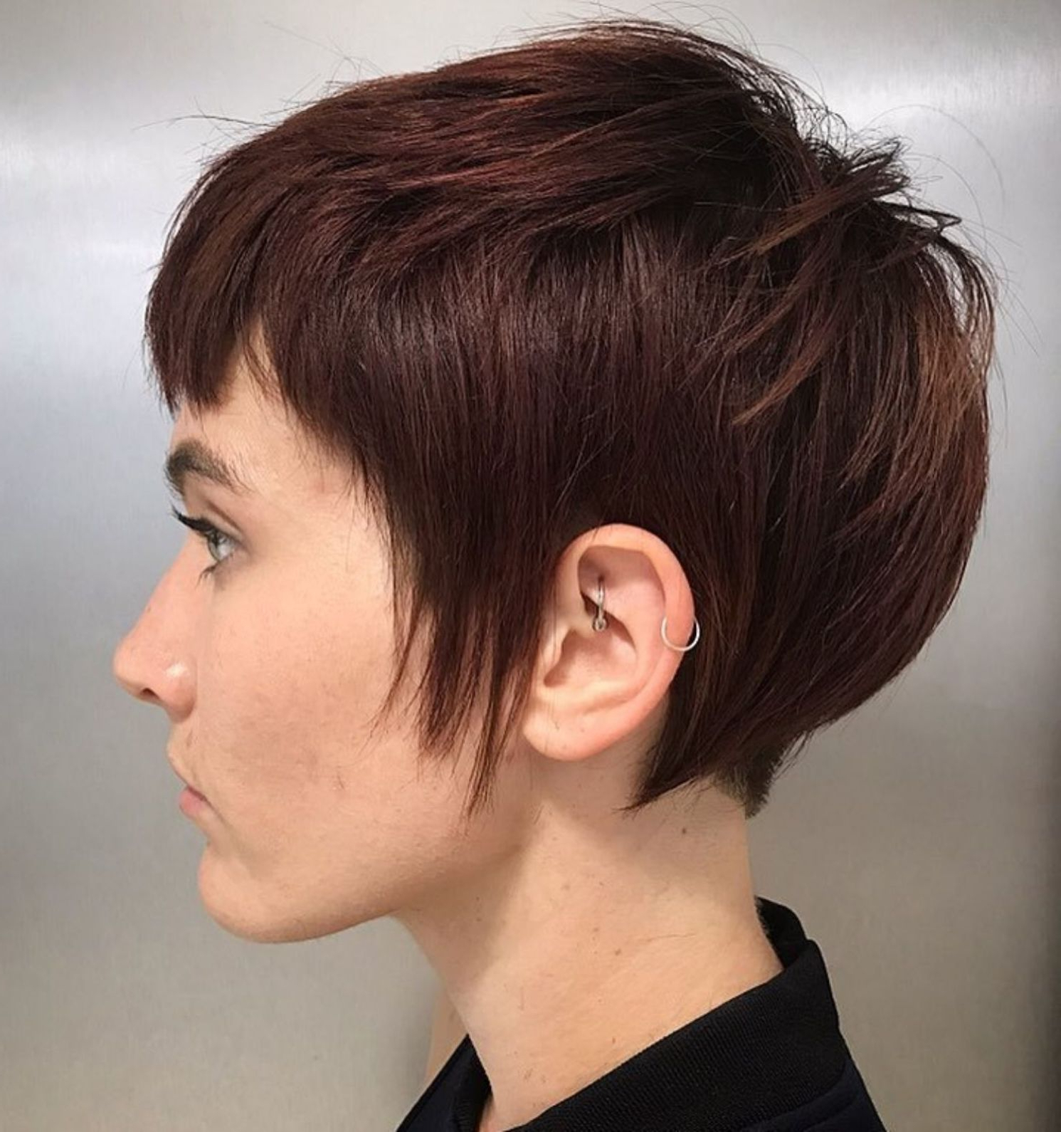 Pixie Haircuts With Bangs – 50 Terrific Tapers | Hair And Regarding Minimalist Pixie Bob Haircuts (View 2 of 20)