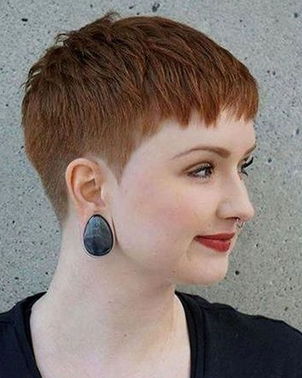 Pixie Hairstyles For Round Face And Thin Hair 2018 – Hairstyles With Regard To Cropped Haircuts For A Round Face (Gallery 8 of 20)