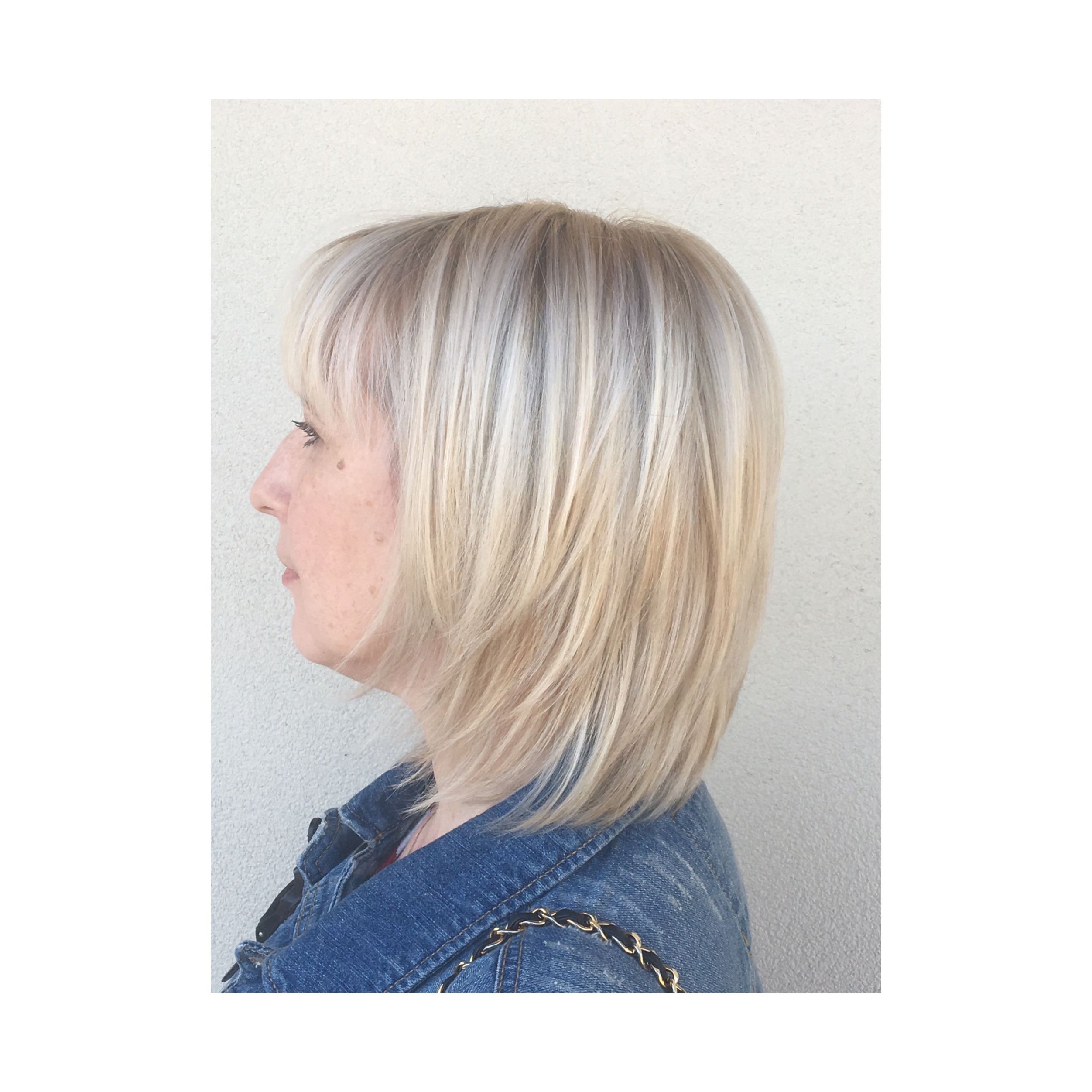 Platinum Shag #blonde #balayage #haircut #texture Instagram Within 2018 Platinum Balayage Shag Haircuts (Gallery 2 of 20)