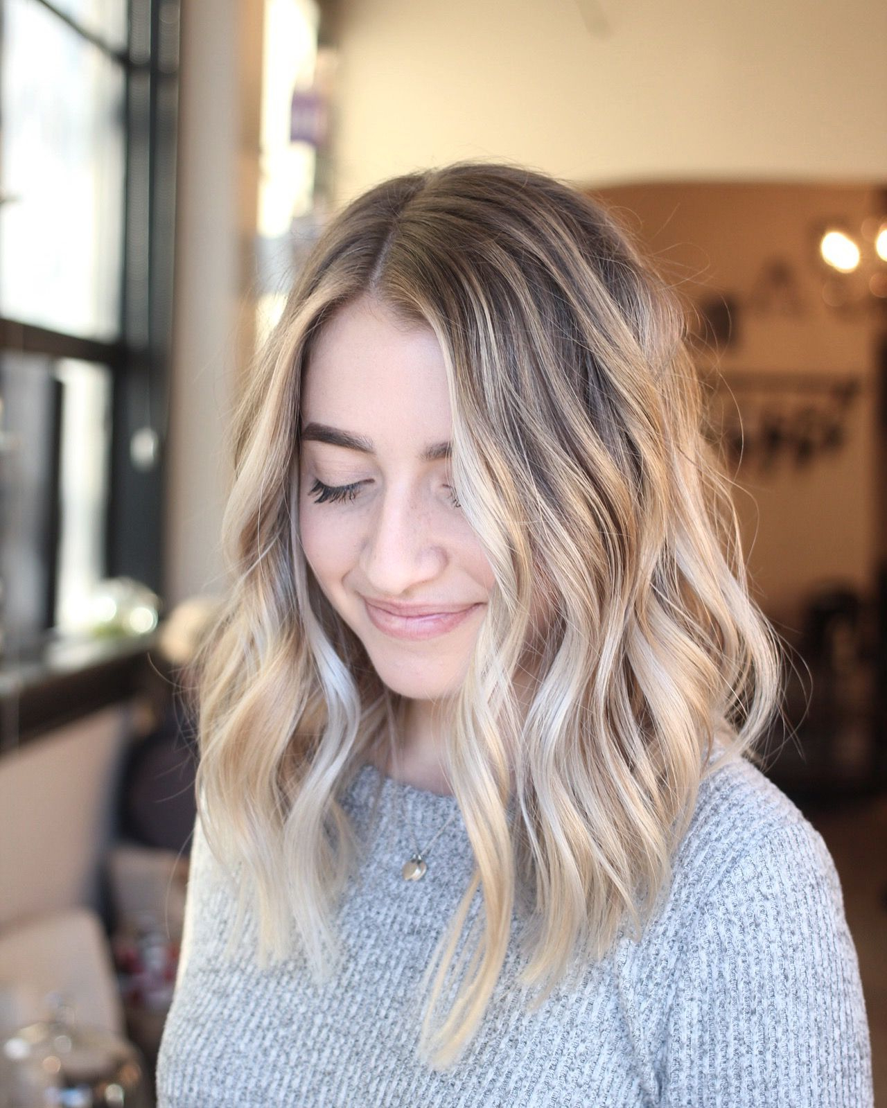 Popular Longer Textured Haircuts With Sun Kissed Balayage With Instagram: @montereyhairbynicole Heavy Balayage Hair (View 2 of 20)