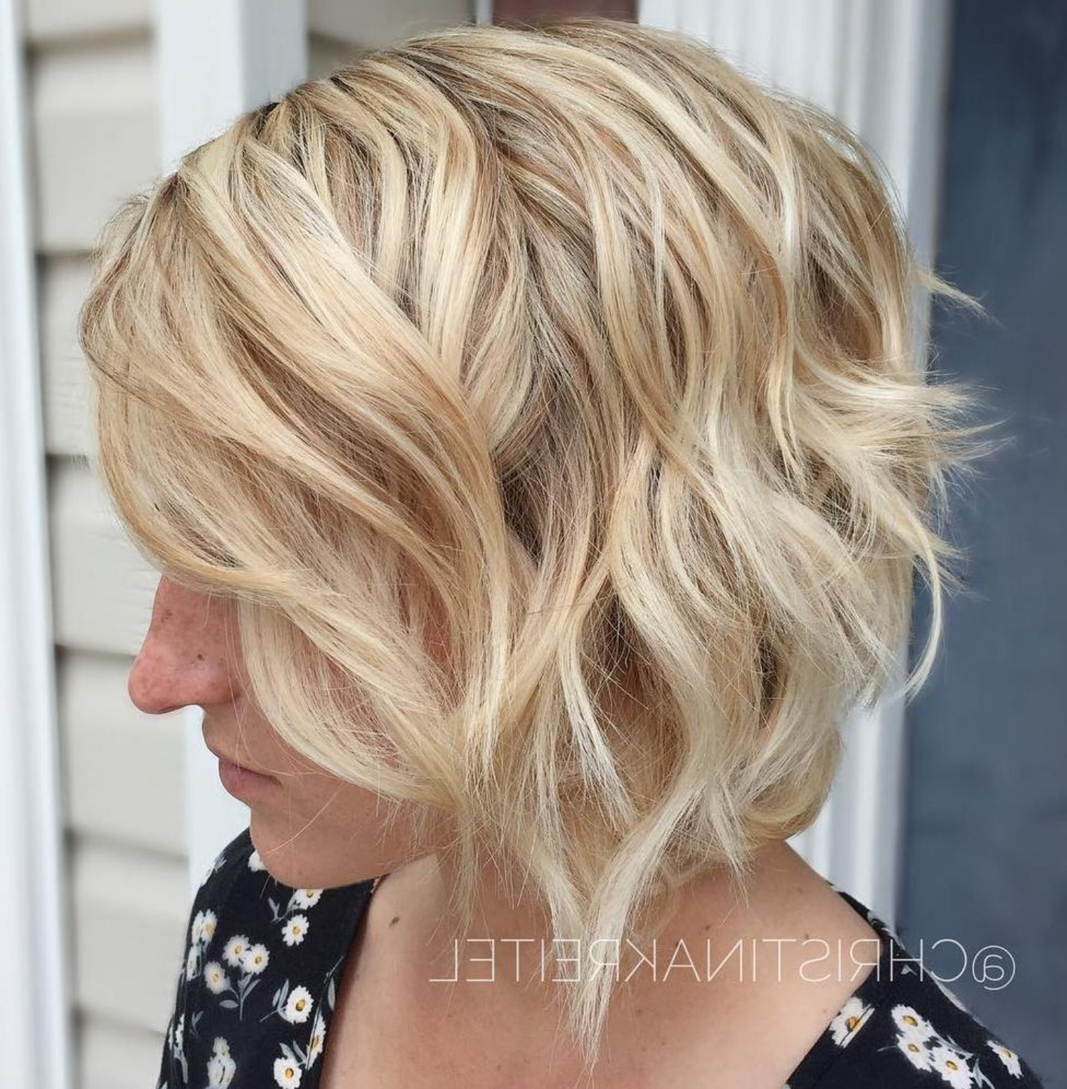 Popular Pretty Wavy Blonde Shag Haircuts Throughout 60 Short Shag Hairstyles That You Simply Can't Miss (View 16 of 20)