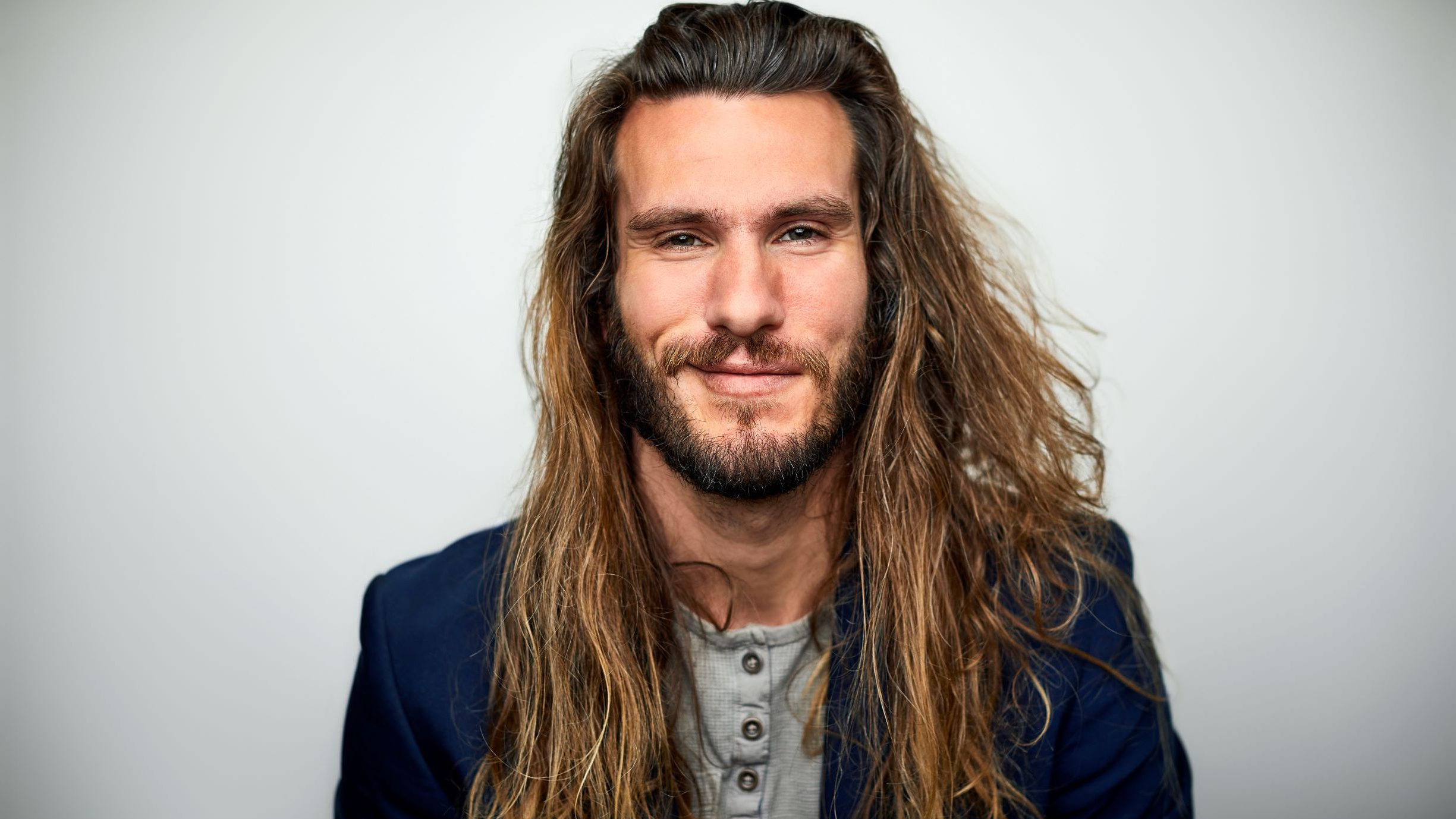 Preferred Straight Shaggy Locks Long Hairstyles Regarding 10 Men Show Us How To Rock Long Hair (Gallery 17 of 20)