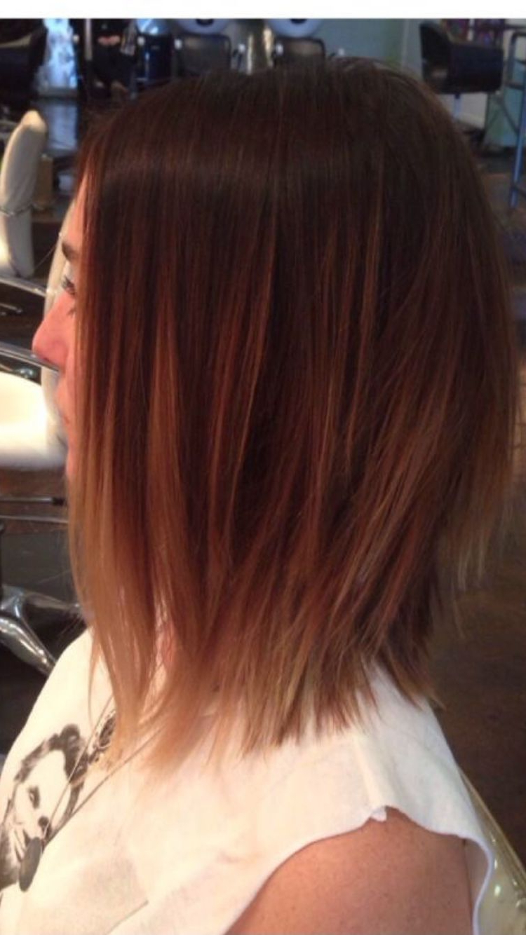 Razored, Textured Ends On Medium Length Bob (View 16 of 20)